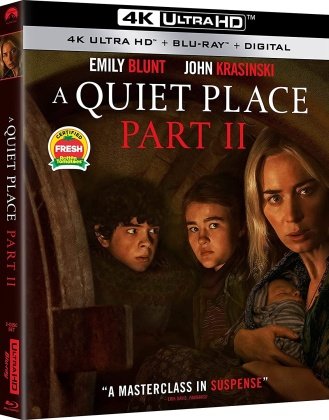 A Quiet Place Part 2 (2020) (4K Ultra HD + Blu-ray)