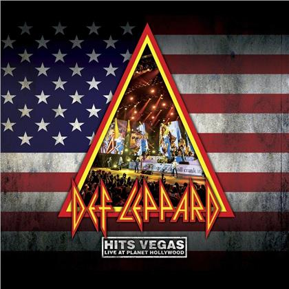 Def Leppard - Hits Vegas - Live At Planet Hollywood (2 CDs + DVD)