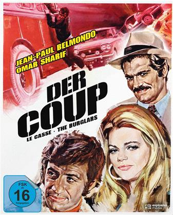 Der Coup (1971) (Cover A, Mediabook, 2 Blu-ray)