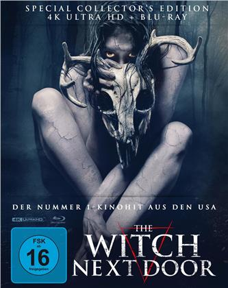 The Witch Next Door (2019) (Cover B, Limited Edition, Mediabook, Special Collector's Edition, 4K Ultra HD + Blu-ray)