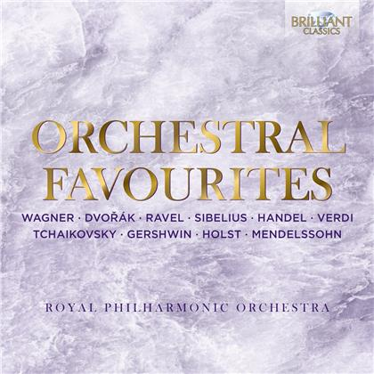 The Royal Philharmonic Orchestra - Orchestral Favourites (4 CDs)