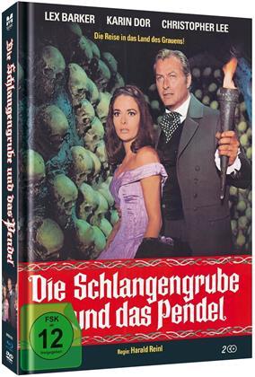 Die Schlangengrube und das Pendel (1967) (Limited Edition, Mediabook, Blu-ray + DVD)