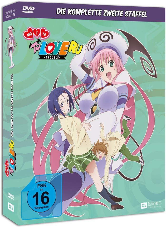 Motto To Love Ru: Trouble - Staffel 2 (2010) (Gesamtausgabe, Uncut, 3 DVDs)
