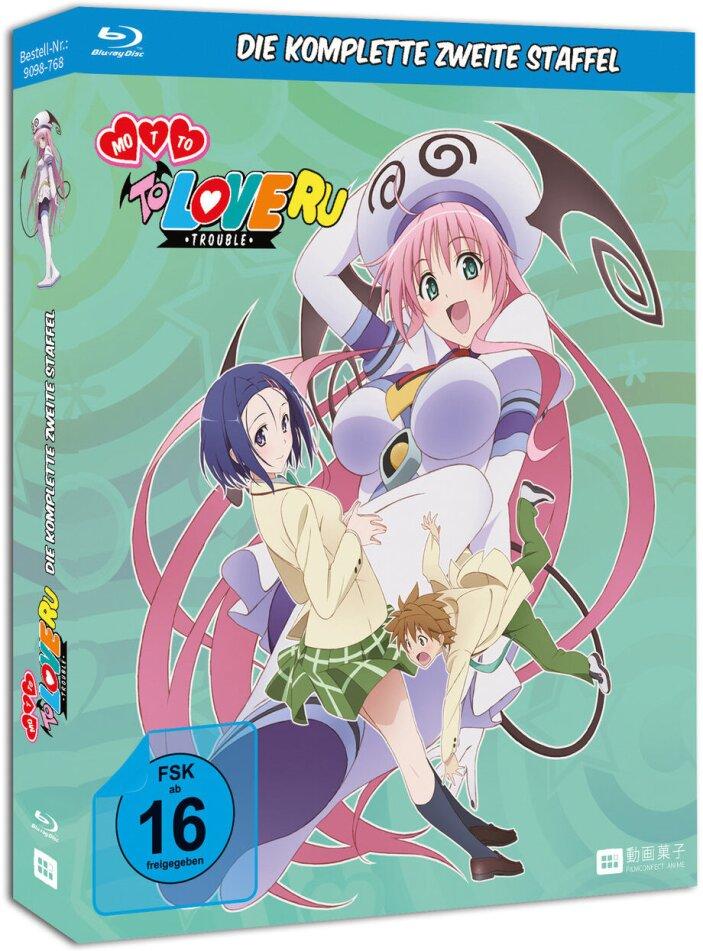 Motto To Love Ru: Trouble - Staffel 2 (2010) (Gesamtausgabe, Uncut, 3 Blu-rays)