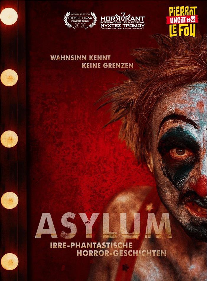 Asylum - Irre-phantastische Horror-Geschichten (2018) (Cover A, Limited Edition, Mediabook, Uncut, Blu-ray + DVD)