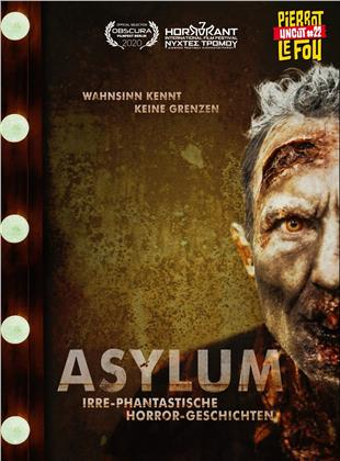 Asylum - Irre-phantastische Horror-Geschichten (2018) (Cover B, Limited Edition, Mediabook, Uncut, Blu-ray + DVD)