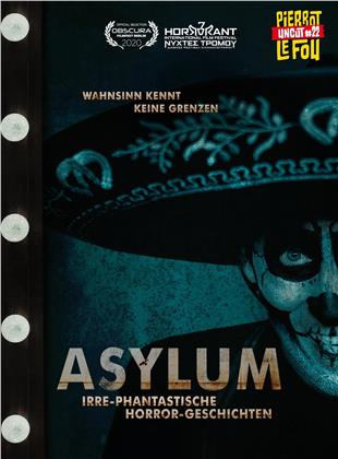 Asylum - Irre-phantastische Horror-Geschichten (2018) (Cover C, Limited Edition, Mediabook, Uncut, Blu-ray + DVD)