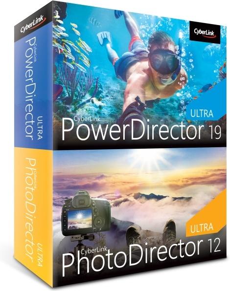 CyberLink PowerDirector 19 Ultra & PhotoDirector 12 Ultra Duo