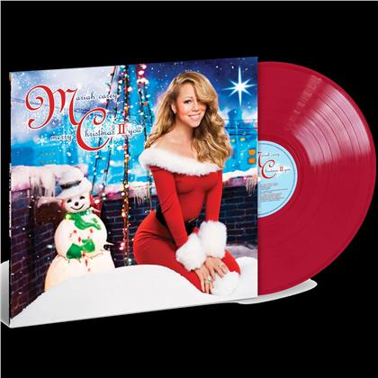 Mariah Carey - Merry Christmas II You (2020 Reissue, Island, Opaque Red Vinyl, LP)