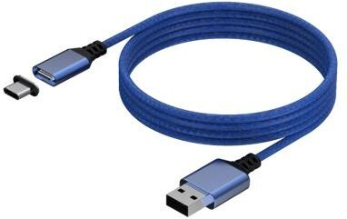 KONIX - Mythics Magnetic USB Charge Cable 3m - blue
