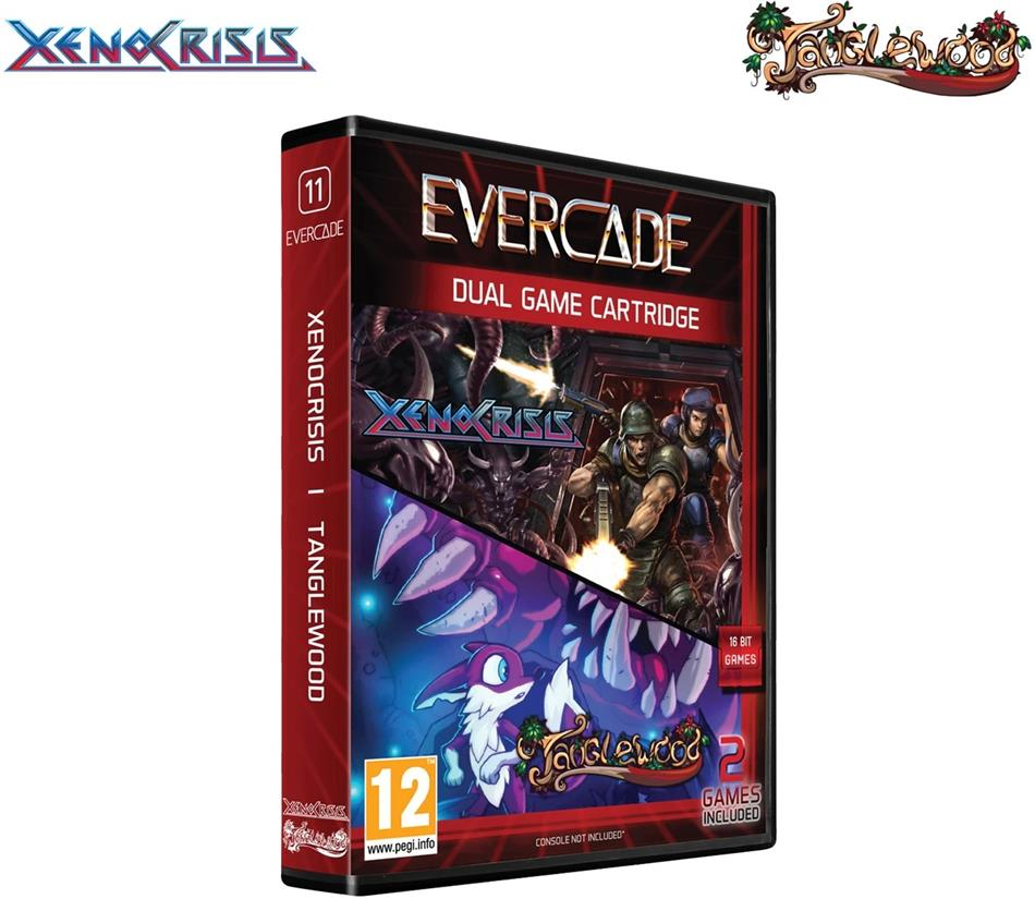 Blaze Evercade Xeno Crisis/Tanglewood - Dual Game Cartridge