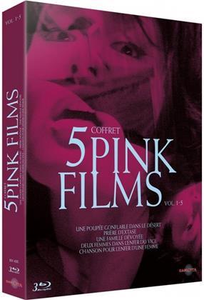 Coffret 5 Pink Films - Vol. 1-5 (3 Blu-rays)