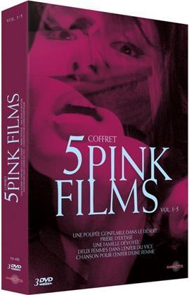 Coffret 5 Pink Films - Vol. 1-5 (3 DVDs)