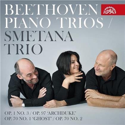 Smetana Trio & Ludwig van Beethoven (1770-1827) - Piano Trios