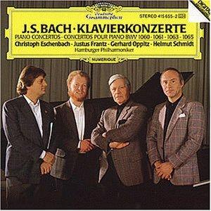 Johann Sebastian Bach (1685-1750), Hamburger Philharmoniker, Christoph Eschenbach, Justus Frantz, Gerhard Oppitz, … - Piano Concertos (LP)