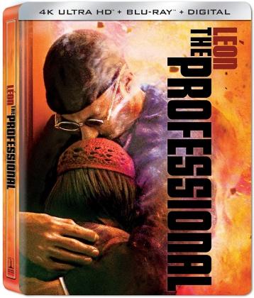 Léon the Professional (1994) (Steelbook, 4K Ultra HD + Blu-ray)