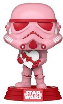 Funko Pop! Star Wars: - Valentines- Stormtrooper W/Heart