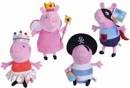 Peppa Pig Plüsch Kostümfreunde - 4-sort.