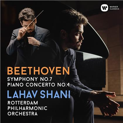Lahav Shani, Rotterdam Philharmonic Orchestra & Ludwig van Beethoven (1770-1827) - Sinfonie Nr. 7/Klavierkonzert Nr. 4