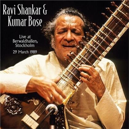 Ravi Shankar & Kumar Bose - Live At Berwaldhallen Stockholm 1989 (LP)