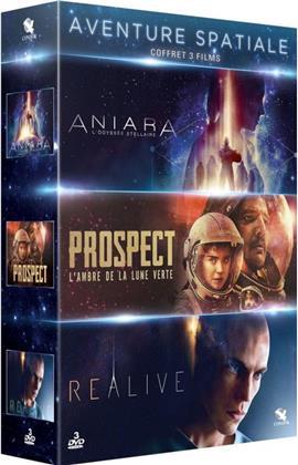 Aventure Spatiale - Aniara - L'odyssée stellaire / Prospect / Realive (3 DVDs)