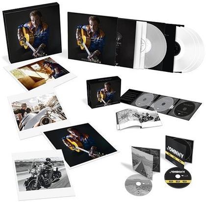 Johnny Hallyday - Son Reve Americain (5 LPs + 3 CDs + 2 DVDs)