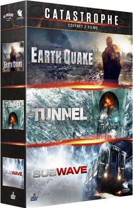 Catastrophe - Earthquake / Tunnel / Subwave (3 DVDs)