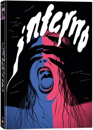 Inferno (1980) (Cover F, Wattiert, Limited Collector's Edition, Mediabook, Blu-ray + 2 DVDs)