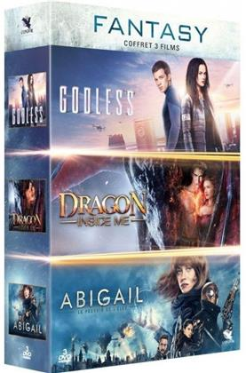 Fantasy - Godless / Dragon Inside Me / Abigail (3 DVDs)