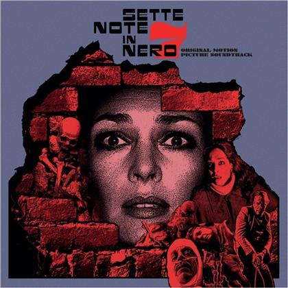 Fabio Frizzi, Franco Bixio & Vince Tempera - Sette Note In Nero - OST (2020 Reissue, death waltz, LP)