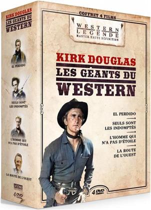 Kirk Douglas - Les géants du Western - El Perdido / Seuls sont les indomptés / L'homme qui n'a pas d'étoile / La route de l'ouest (Western de Légende, 4 DVDs)