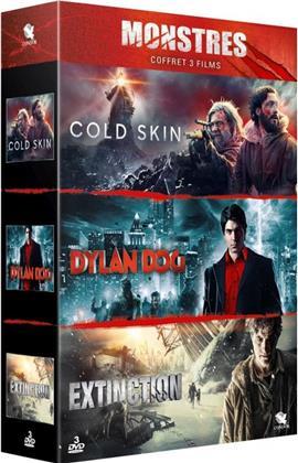 Monstres - Cold Skin / Dylan Dog / Extinction (3 DVDs)