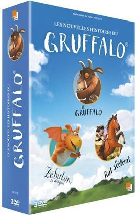 Les nouvelles histoires du Gruffalo - Le Gruffalo / Zébulon le dragon / Le Rat scélérat (3 DVDs)