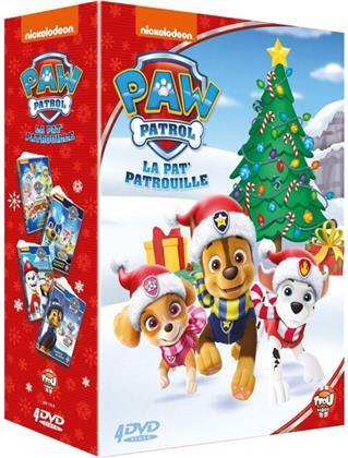 PAW Patrol - La pat' patrouille - Mighty Pups / Une super fête / Tempête de neige / Puissance maximale (4 DVDs)