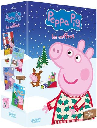Peppa Pig - Le Cirque de Peppa / Le Spectacle de Noël / Quand je serai grande / Le Lapin de Pâques (4 DVDs)