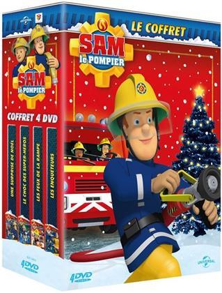 Sam le Pompier - Le choc des super-héros / Une surprise de Noël / Les feux de la rampe / Les enquêteurs (4 DVDs)