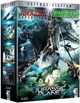 Jurassic Expedition / Warbirds / Jurassic Planet (3 DVDs)