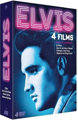 Elvis - Gi Blues / Sous le ciel bleu d'Hawaï / L'homme à tout faire / Bagarres au King Créole (4 DVDs)