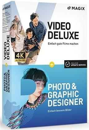 MAGIX Video Delxue + Photo + Graphic Designer