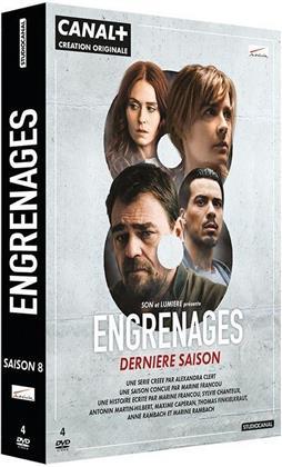 Engrenages - Saison 8 - La Saison Finale (4 DVDs)