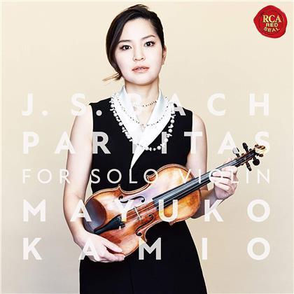 Mayuko Kamio & Johann Sebastian Bach (1685-1750) - Partitas For Solo Violin (Japan Edition, Hybrid SACD)