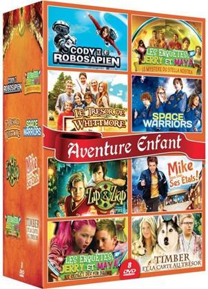 Aventure Enfant - 8 Films (8 DVDs)