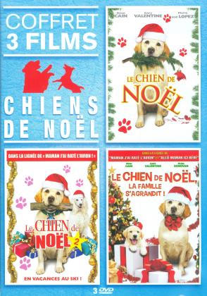 Chiens de Noël - Coffret 3 Films - Le chien de Noël / Le chien de Noël 2 / Le chien de Noël - La famille s'agrandit ! (3 DVDs)