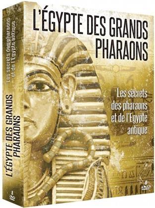 L'Egypte des grands Pharaons - Les secrets des pharaons et de l'Egypte antique (8 DVDs)