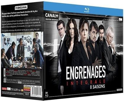 Engrenages - Intégrale - Saisons 1-8 (24 Blu-rays)