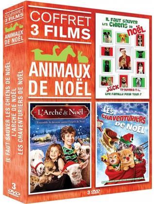 Animaux de Noël - Il faut sauver les chiens de Noël / L'arche de Noël / Les chaventuriers de Noël (3 DVDs)
