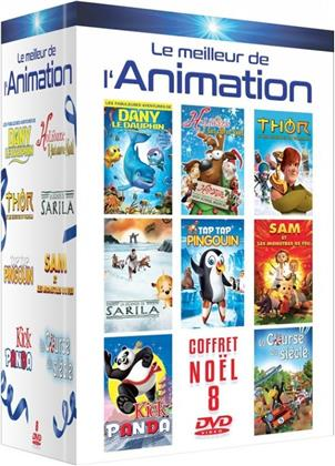 Le meilleur de l'Animation - Coffret Noël 8 Films (8 DVDs)