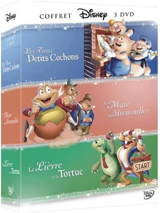 Les Trois Petits Cochons / Le Lièvre et la Tortue / La Mare aux Grenouilles (3 DVDs)