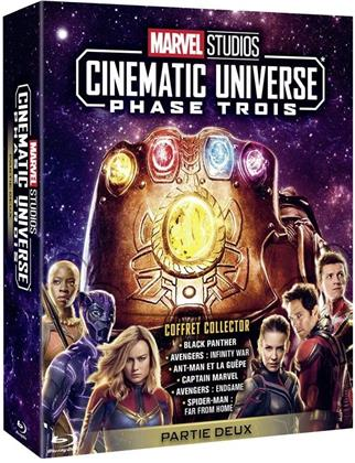 Marvel Studios Cinematic Universe - Phase 3 - Partie 2 (8 Blu-rays)
