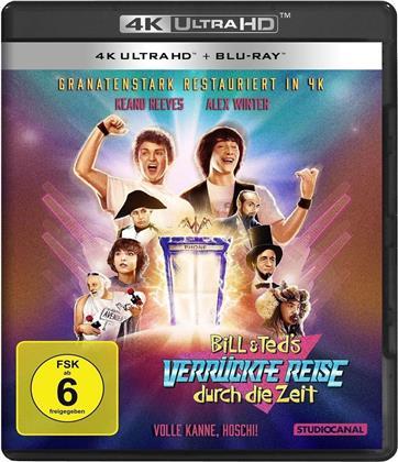 Bill & Teds verrückte Reise durch die Zeit (1989) (4K Ultra HD + Blu-ray)